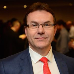 Iain Moffat, Chief Global Officer at HR and analytics company, MHR.