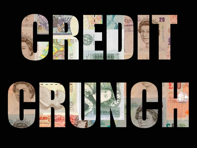 Plan ahead to Survive a credit crunch in Great Britain